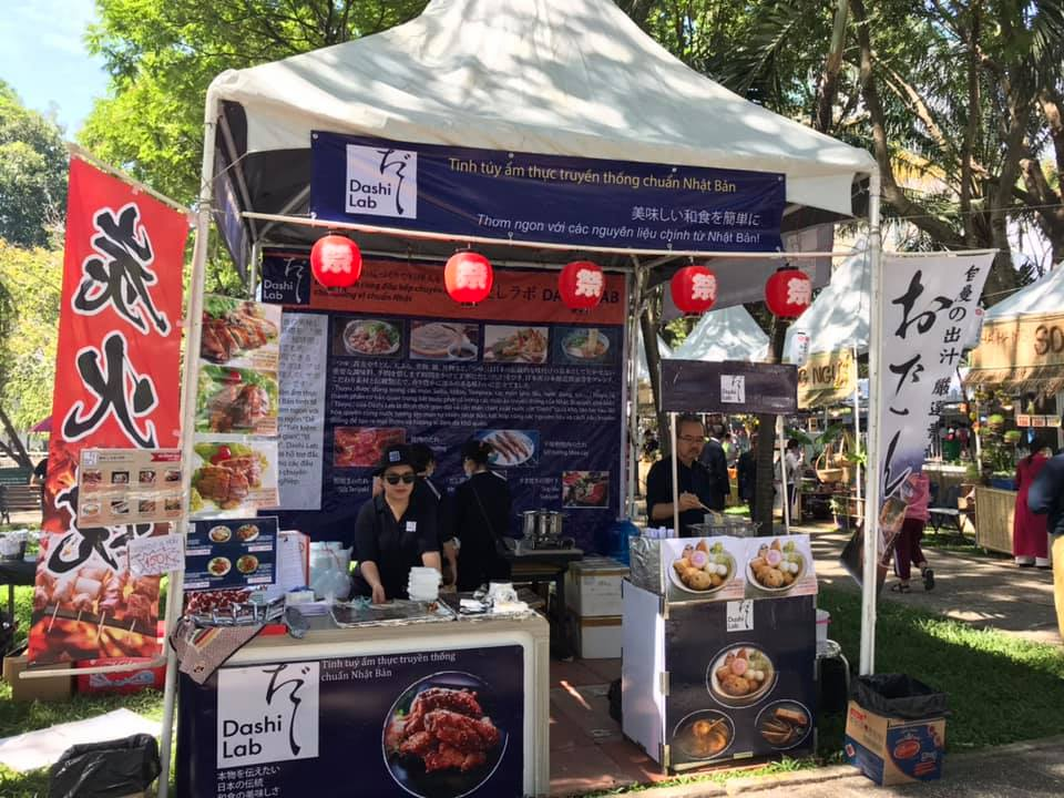 Dashi Lab tại Japan Vietnam Festival 2019